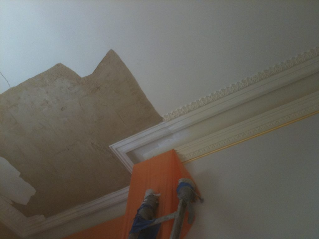 Plaster Wall And Ceiling Crack Repairs Concept Plastering